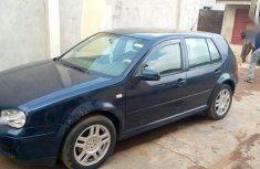 Volkswagen Golf 2.0 GL 3-Door 2002 Blue color for sale