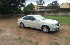 Mercedes-Benz E350 2008 White for sale