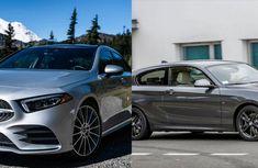 Battle of the minors: Entry Level BMW 1 Series vs Mercedes Benz A Class