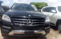 Mercedes-Benz ML350 2012 Black for sale