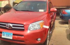 Clean Toyota RAV4 2008 Red for sale