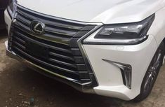 Selling 2017 Lexus LX automatic in good condition