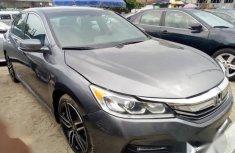Used grey 2017 Honda Accord car automatic at attractive price