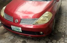 Nissan Tiida 2008 1.8 Red for sale