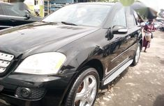 Mercedes-Benz ML350 2008 Black for sale