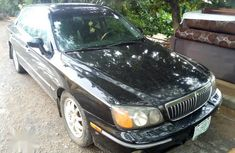 Used black 2002 Hyundai XG sedan at mileage 14,323 for sale