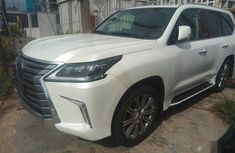 New Lexus LX 2017 White for sale
