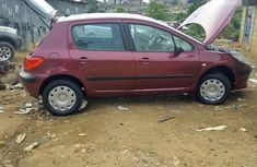 Sell cheap red 2007 Peugeot 307 suv / crossover manual in Abuja