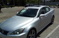 Lexus IS 250 Automatic 2010 Silver for sale