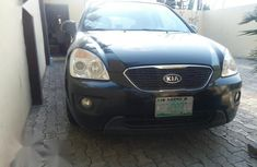 Kia Carens 2008 Black for sale