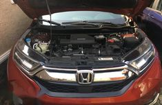 Used red 2017 Honda CR-V automatic car at attractive price