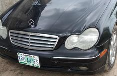 Well maintained black 2004 Mercedes-Benz C240 at mileage 10,000 for sale