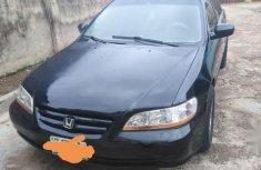 Black 2002 Honda Accord car sedan automatic at attractive price