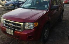 Ford Escape 2009 XLS Automatic Red for sale