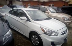 Hyundai Accent 2013 GLS White for sale