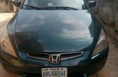 Clean used green 2004 Honda Accord sedan automatic for sale in Ibadan