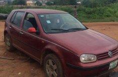 Volkswagen Golf 2002 Red for sale