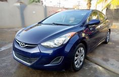 Hyundai Elantra 2013 Blue for sale
