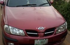 Nissan Almera 2003 1.5 D Red for sale