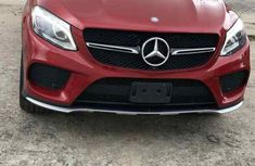 Sell used red 2018 Mercedes-Benz GLE suv  automatic