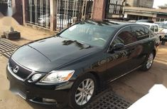 Sell black 2007 Lexus GS automatic in Onitsha