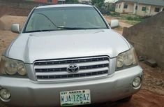 Toyota Highlander 2001 Gray for sale