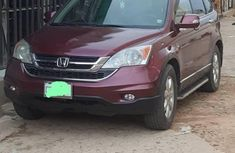 Sell cheap red 2008 Honda CR-V automatic in Onitsha