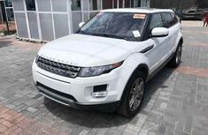 Sell white 2014 Land Rover Range Rover Evoque automatic at price ₦13,500,000