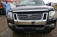 Best priced used black 2007 Ford Explorer at mileage 1