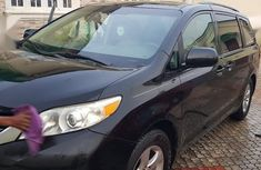 Certified black 2011 Toyota Sienna automatic in good condition
