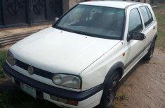 Sell well kept white 1999 Volkswagen Golf sedan in Ibadan
