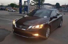 Sell black 2014 Honda Accord sedan automatic at price ₦5,500,000