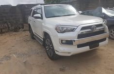 Toyota 4-Runner Limited 4x4 2018 White for sale