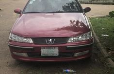 Red 2001 Peugeot 406 car coupe manual in Lagos