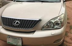 Used gold 2005 Lexus RX automatic car at attractive price