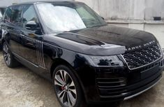 Sell black 2019 Land Rover Range Rover Sport automatic in Ikeja