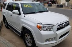 Clean white 2012 Toyota 4-Runner car for sale at attractive price