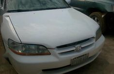 White 2000 Honda Accord automatic at mileage 100 for sale in Ibadan