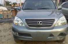 Certified grey  2003 Lexus GX automatic in good condition