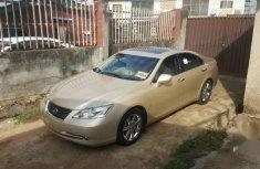 Need to sell cheap used gold 2007 Lexus ES sedan in Ikeja