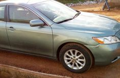 Sell green 2007 Toyota Camry sedan automatic at cheap price
