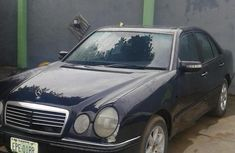 Mercedes-Benz E200 1998 Black for sale