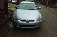 Selling grey 2004 Honda Accord automatic at price ₦1,450,000 in Lagos