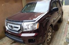 Honda Pilot 2011 Red Wine for sale