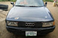 Blue 1998 Audi 80 car at attractive price in Port Harcourt