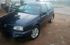 Blue 1998 Volkswagen Golf suv  manual for sale in Lagos