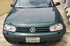 Sell well kept green 2004 Volkswagen Golf hatchback at price ₦500,000