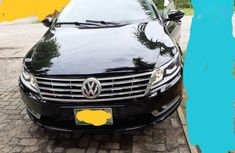 Black 2014 Volkswagen CC car sedan automatic in Lagos