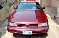 Sell cheap red 1990 Nissan Maxima sedan manual