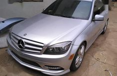 Mercedes-Benz C300 2012 Silver for sale